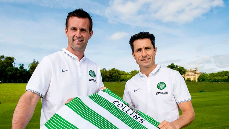 Ronny Deila and John Collins: Celtic's new management team