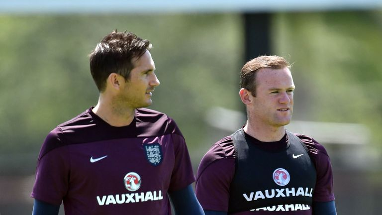 Frank Lampard: Sticking up for Wayne Rooney