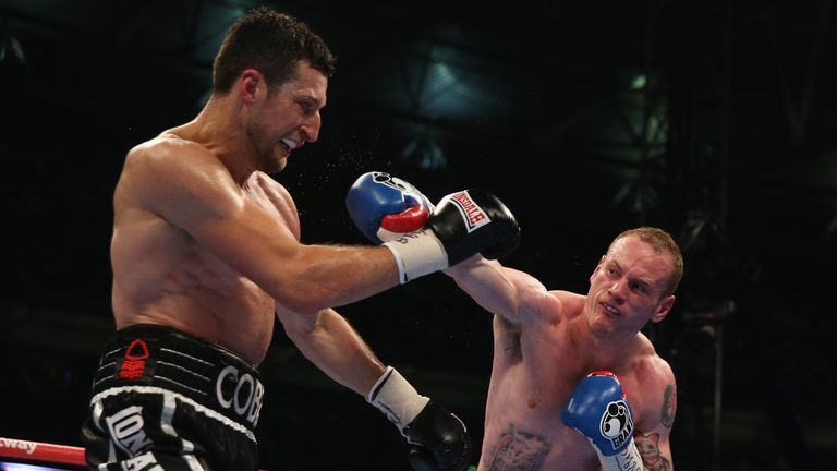 Groves lost to Carl Froch twice but caused him problems first time around