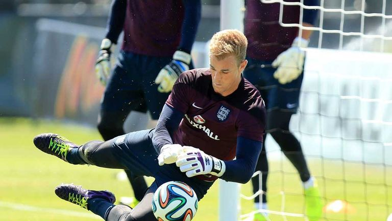 Joe Hart: England goalkeeper happy to face Luis Suarez
