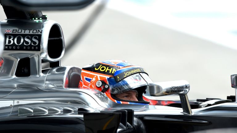 Jenson Button: Contract expires this season