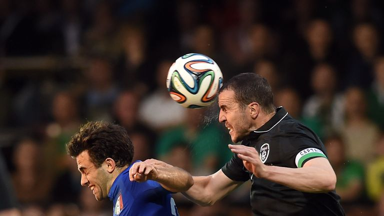 John O'Shea: Ireland defender played in Saturday's 0-0 draw with Italy