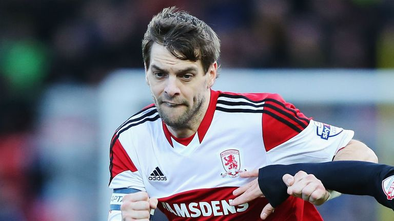 Jonathan Woodgate: Still very much part of the playing staff at Middlesbrough