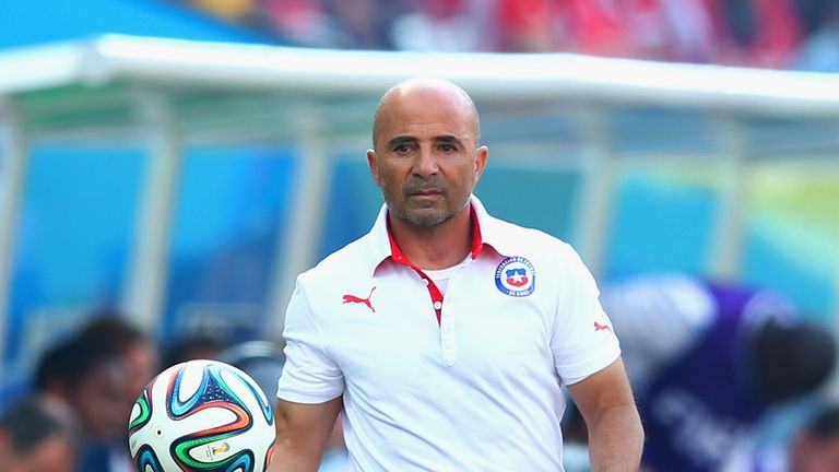 Jorge Sampaoli: Proud of his Chile side making the knock-out stages