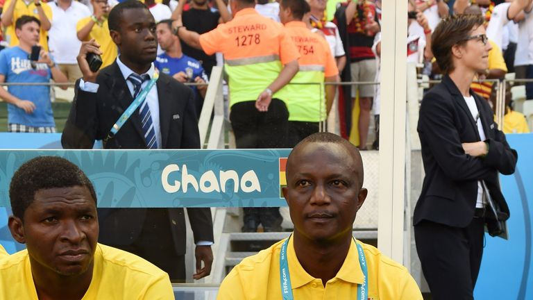 Kwesi Appiah: Proud of his Ghana side after their 2-2 draw with Germany
