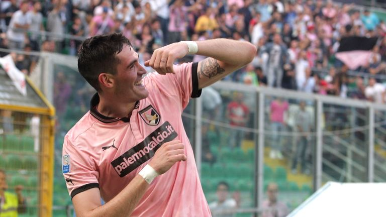 Kyle Lafferty: Confirmed his exit from Palermo
