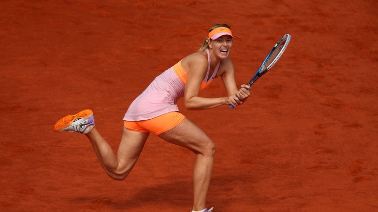 Maria Sharapova: Through to final of French Open after tough contest against Bouchard