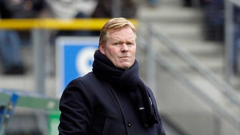 Ronald Koeman: Full respect for West Brom