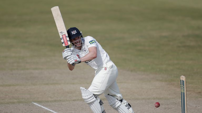 Michael Klinger: Has seen his county season cut short by a fractured left forearm