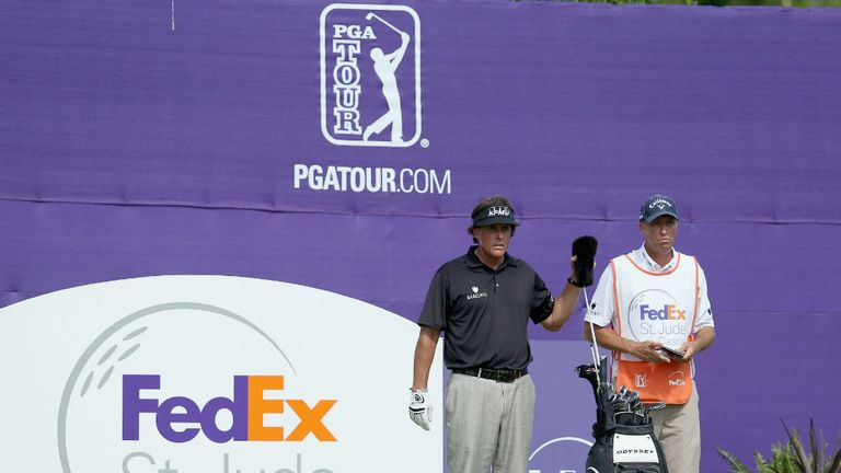 Phil Mickelson will once again be teeing it up at TPC Southwind this week
