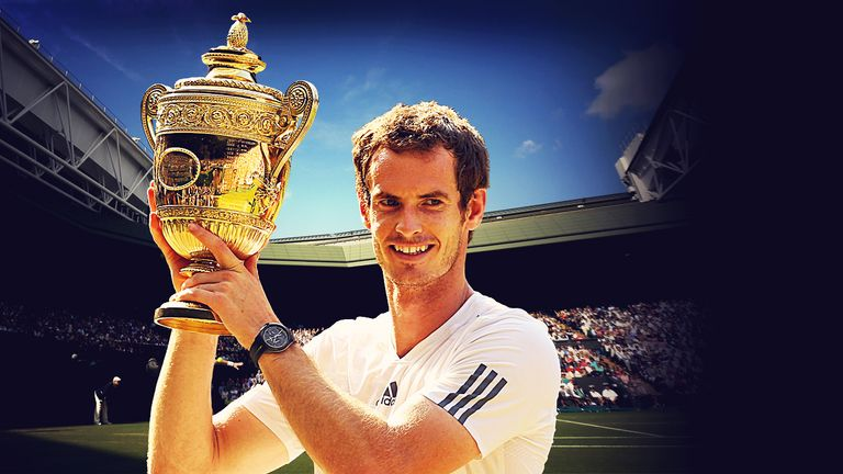 Andy Murray: Beat Novak Djokovic to win Wimbledon two years ago