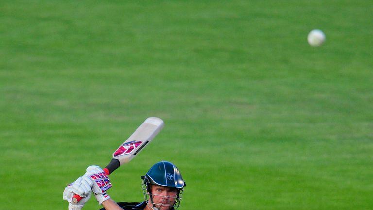Gareth Andrew: Struck 20 off 16 balls