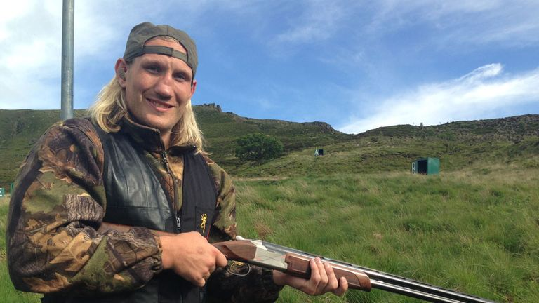 Eorl Crabtree: Likes to give it both barrels