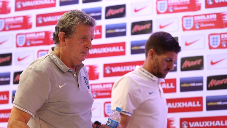 Roy Hodgson: Praise for his skipper