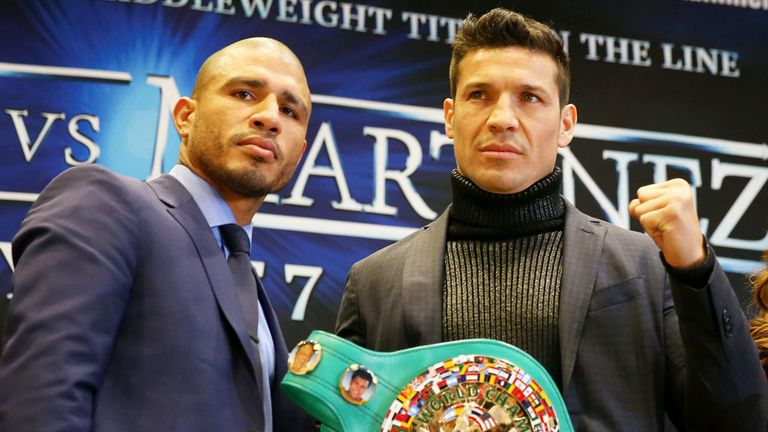 Miguel Cotto and Sergio Martinez will battle for the WBC belt this weekend