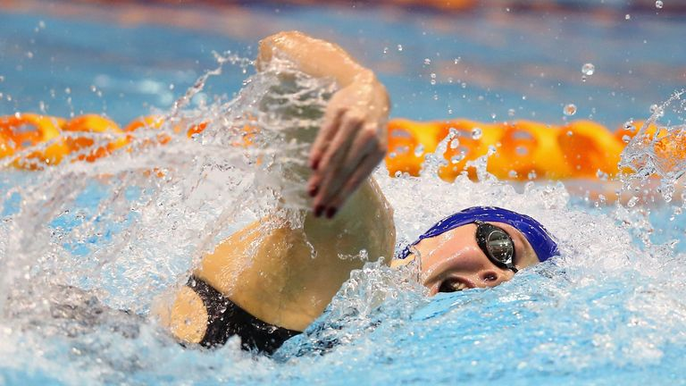 Siobhan-Marie O'Connor: Qualified second fastest for the 200m freestyle final