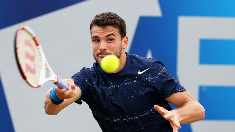 Grigor Dimitrov won the Boys' Singles at Wimbledon in 2008