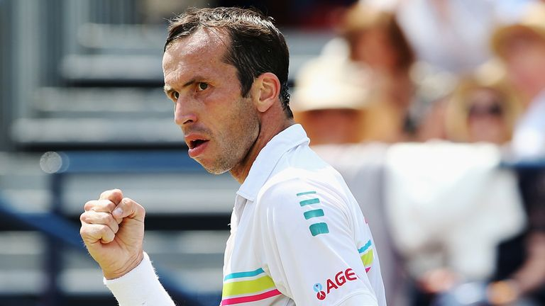 Radek Stepanek, who knocked Murray out of Queen's, tackles Novak Djokovic today