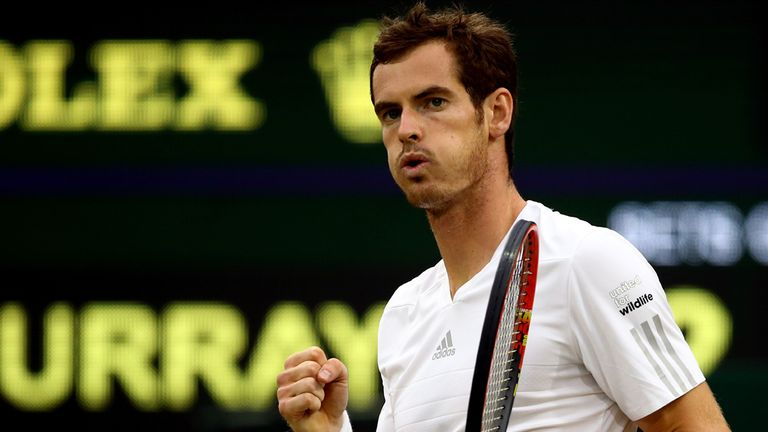 Andy Murray: Attempting to reach another Wimbledon semi-final