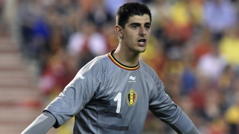 Thibaut Courtois: Ready to compete for a starting berth at Chelsea