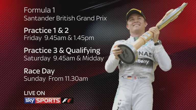 British GP tv times
