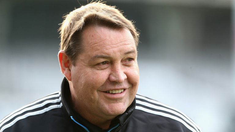 Steve Hansen: Has warned England that New Zealand have improved