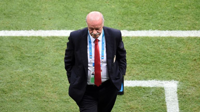 Vicente del Bosque: Ready to change his team after loss to the Ntherlands