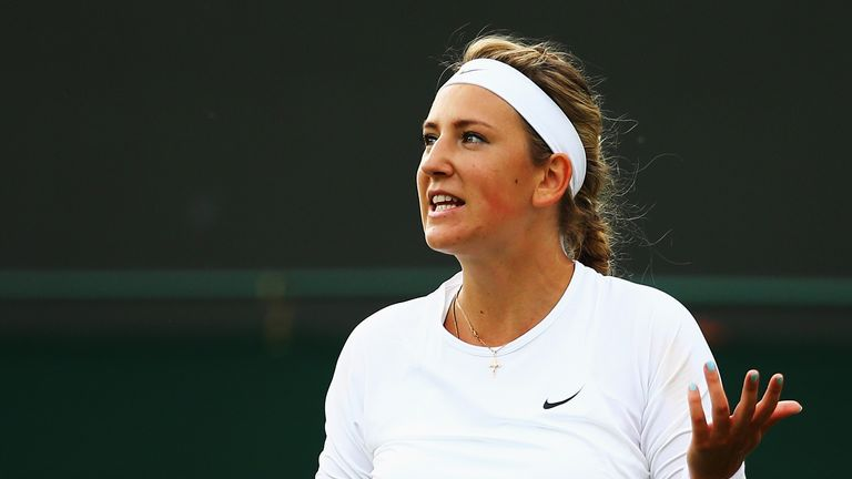 Victoria Azarenka: Failed to make it past the second round at Wimbledon