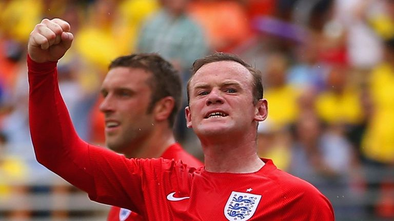Wayne Rooney: England striker ended a run of four international games without a goal by scoring against Ecuador