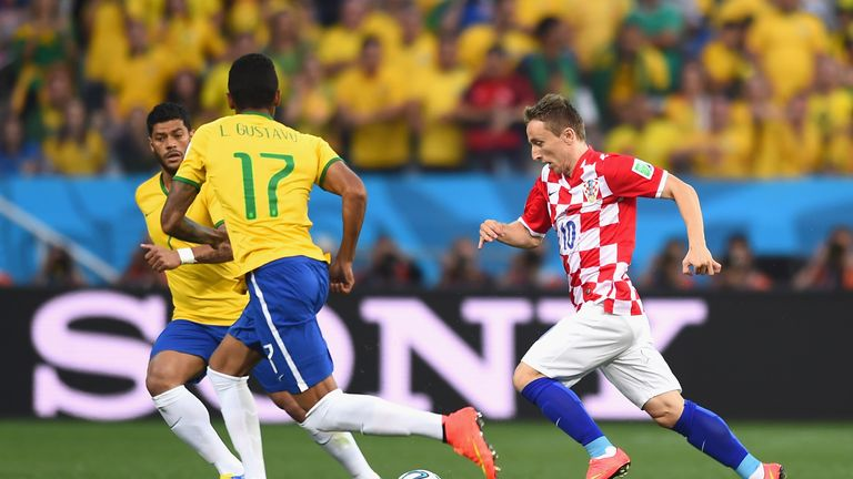 Luka Modric: Picked up a knock during defeat to Brazil