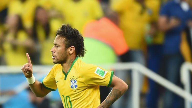 Neymar: Delivered with two goals