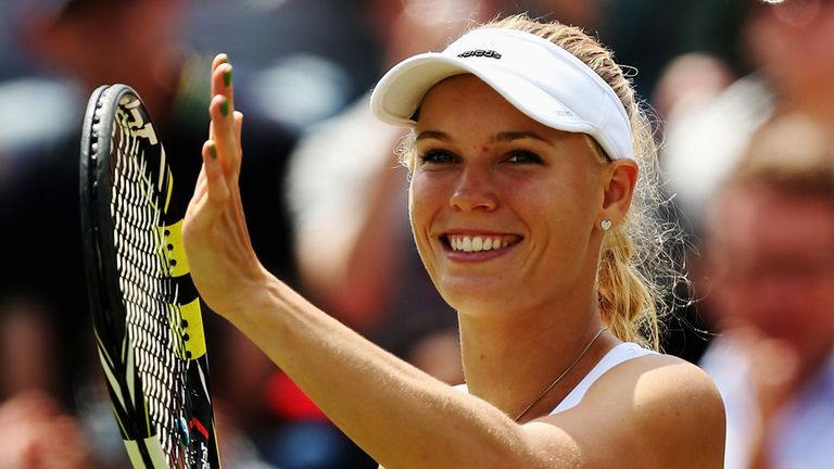 Caroline Wozniacki: Through to first WTA final this season