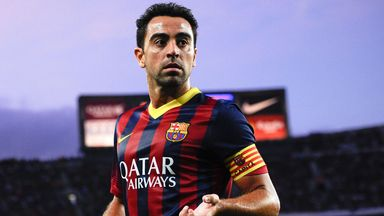 Xavi: Had been linked with move away from Barcelona
