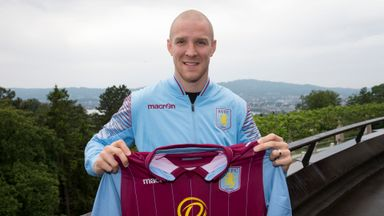 Philippe Senderos: Backed to do well at Aston Villa
