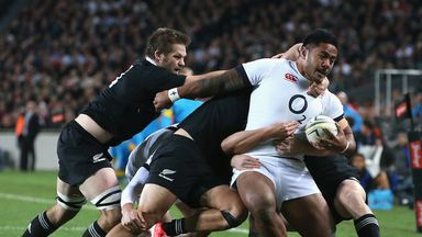 Manu Tuilagi will line up with Kyle Eastmond in the centre