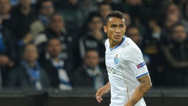 Danilo: Porto full-back happy where he is