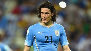 Edinson Cavani: Hoping to beat England
