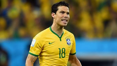 Hernanes has left Inter Milan for Juventus