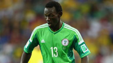 Juwon Oshaniwa: Played for Nigeria at World Cup 2014