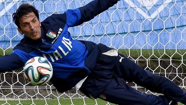 Gianluigi Buffon: Ruled out of game against England