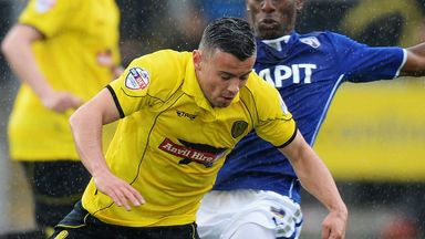 Zeli Ismail: Back in a Burton Albion shirt