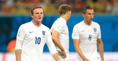 Wayne Rooney: Struggled out wide against Italy