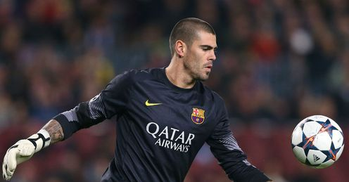 Victor Valdes: Missed World Cup with knee injury
