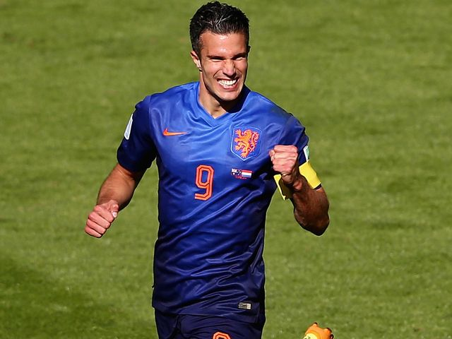 Robin van Persie: Misses the final group game with Chile