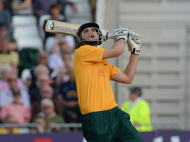 Alex Hales: Guided Notts to victory