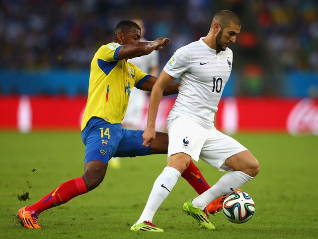 Karim Benzema couldn't net again for France