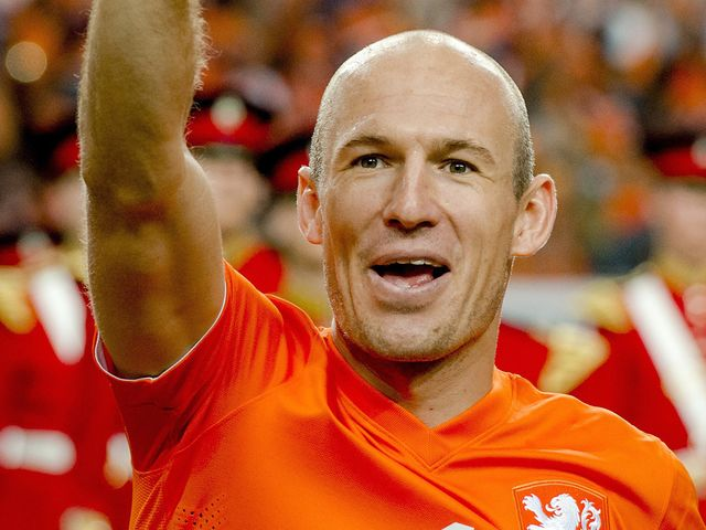 Arjen Robben scored for Holland