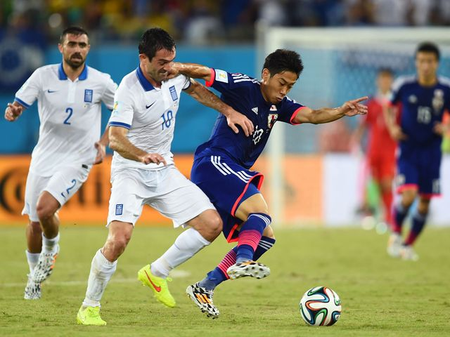 Shinji Kagawa couldn't help Japan claim victory