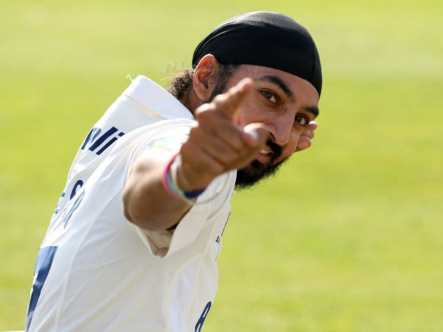 Panesar: Took a superb 11 wickets in the match