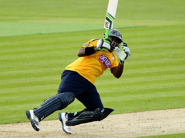 Michael Carberry: Helped Hampshire claim victory